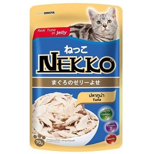 Nekko Tuna In Jelly Pouch Cat Food