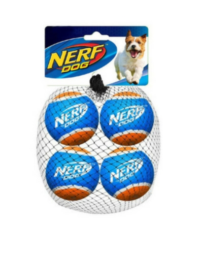 Nerf Dog 4pc Tennis Ball Blaster Refill