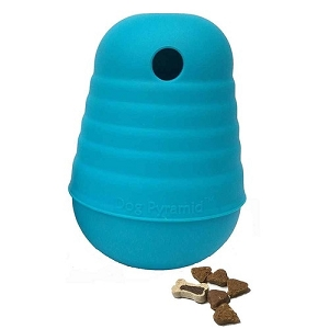 Nina Ottosson Large Blue Dog Pyramid Toy