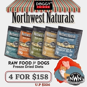 [4 for $158] Northwest Dried Nuggets