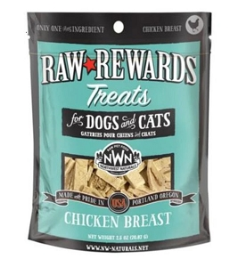 Northwest Naturals Freeze Dried Chicken Breasts Cat & Dog Treats 3oz