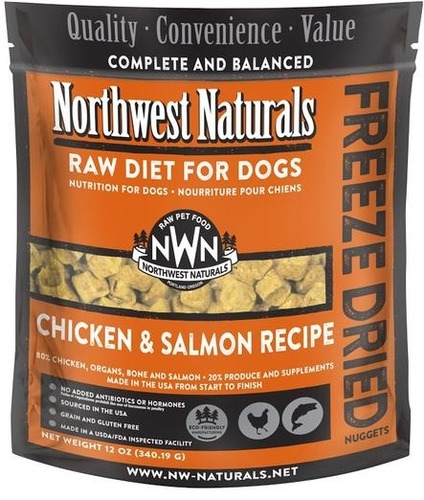 Northwest Naturals Freeze Dried Chicken & Salmon