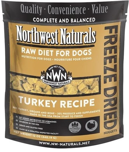 Northwest Naturals Freeze Dried Turkey