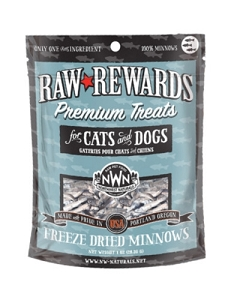 Northwest Naturals Raw Rewards Freeze Dried Minnows Dog & Cat Treat 1oz