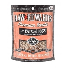 Northwest Naturals Raw Rewards Freeze Dried Shrimp Dog & Cat Treat 1oz