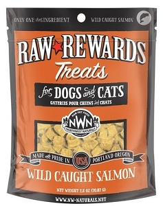 Northwest Naturals Raw Rewards Wild Caught Salmon Dog & Cat Treat 2.5oz