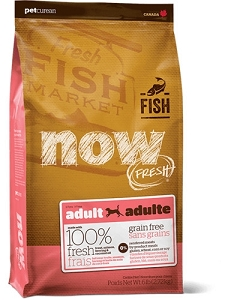 NOW FRESH Grain Free FISH Recipe Adult Dry Dog Food