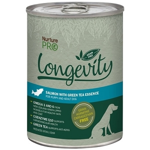 Nurture Pro Canned Longevity Salmon with Green Tea Essence