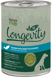 Nurture Pro Dog Canned Longevity Grain-free Salmon with Green Tea Essence