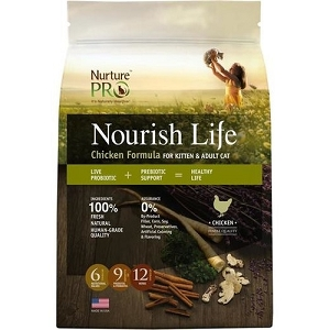 [PROMO till 30th June - 50% OFF 2nd Bag] Nurture Pro Nourish Life Chicken Formula for Kitten & Adult Cat Dry Cat Food