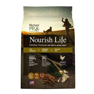 Nurture Pro Nourish Life Chicken Formula for Puppy and Active Adult Dry Dog Food