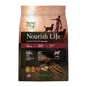 Nurture Pro Nourish Life Lamb Formula for Adult Dry Dog Food
