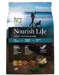Nurture Pro Nourish Life Salmon Formula for Adult Dry Dog Food