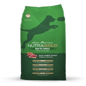 Nutra Gold Grain Free Duck & Sweet Potato Dry Dog Food