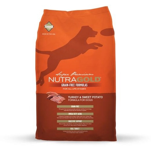 Nutra Gold Grain Free Turkey & Sweet Potato Dry Dog Food