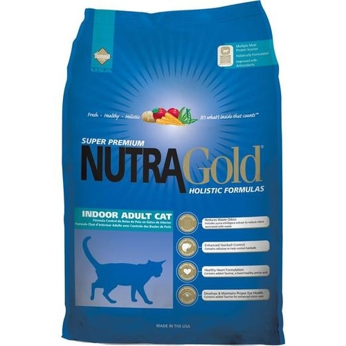 Nutra Gold Holistic Indoor Adult Dry Cat Food