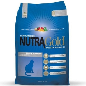 Nutra Gold Holistic Indoor Senior Dry Cat Food