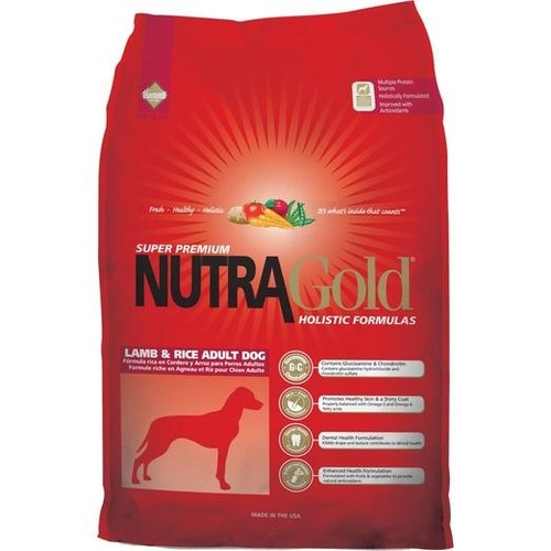Nutra Gold Holistic Lamb & Rice Dry Dog Food