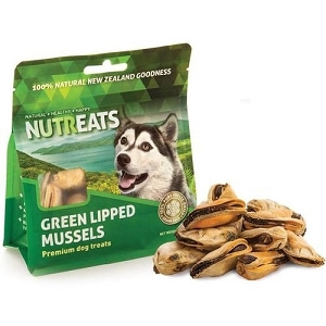 Nutreats Freeze Dried Green Lipped Mussel Dog Treat 50gm