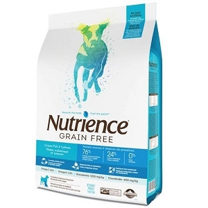 Nutrience Grain Free Ocean Fish Formula Dry Dog Food