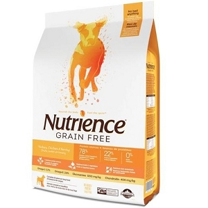Nutrience Grain Free Turkey, Chicken & Herring Formula Dry Dog Food