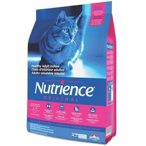 Nutrience Original Adult Indoor Chicken Meal with Brown Rice Recipe Dry Cat Food