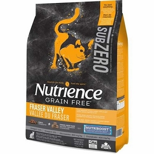 Nutrience Subzero Fraser Valley Formula Grain Free Dry Cat Food