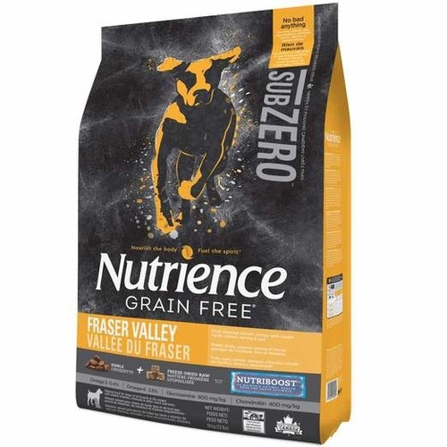 Nutrience SubZero Grain Free Fraser Valley Formula Dry Dog Food