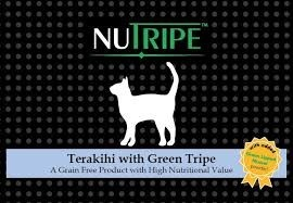 Nutripe Canned Terakihi with Green Tripe cat + GLM Cat Food