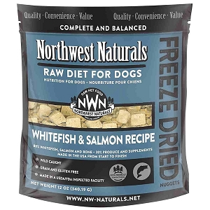 Northwest Whitefish & Salmon Freeze Dried Nuggets 12oz