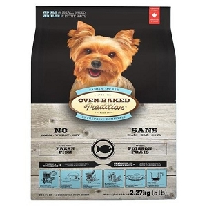 Oven-Baked Tradition Adult Fish Small Bites Dry Dog Food