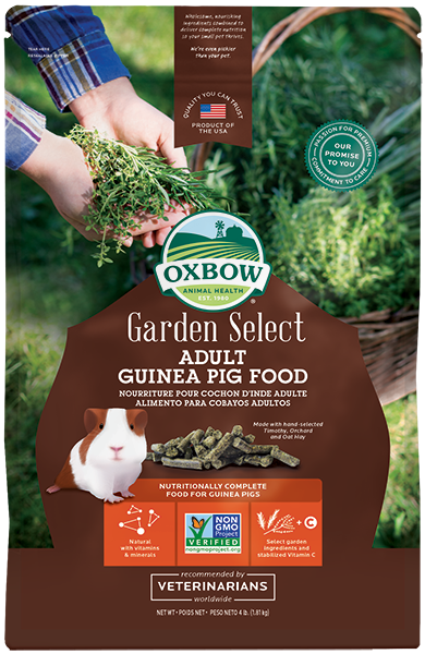 Oxbow Garden Select : Adult Guinea Pig 4lbs