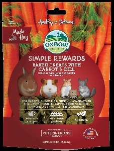 Oxbow Baked Treats with Carrot & Dill