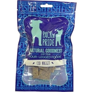 Pack & Pride Cod Nugget Dog Treats