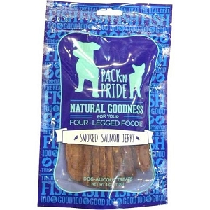Pack & Pride Smoked Salmon Jerky Dog Treats