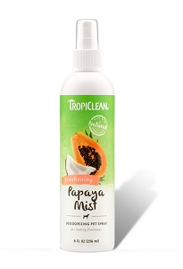 Tropiclean Papaya Mist Deodorizing Pet Spray 8oz
