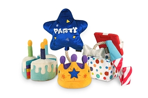 P.L.A.Y Party Time Plush Toys