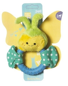 Pet Brands Butterfly Ring Plush Toy