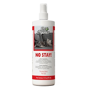 Naturvet Pet Organics No Stay! Furniture Spray for Cats