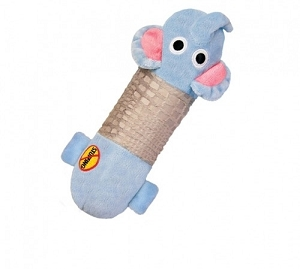 Petstages Big Stuffing Free Squeak Animal Toy