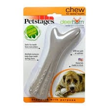 Petstages Deer Horn Chew Toy