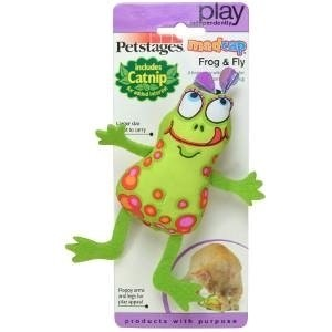 Petstages Floppy Frog Toy