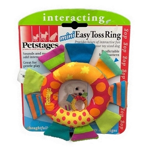 Petstages Mini Easy Toss Ring Toy