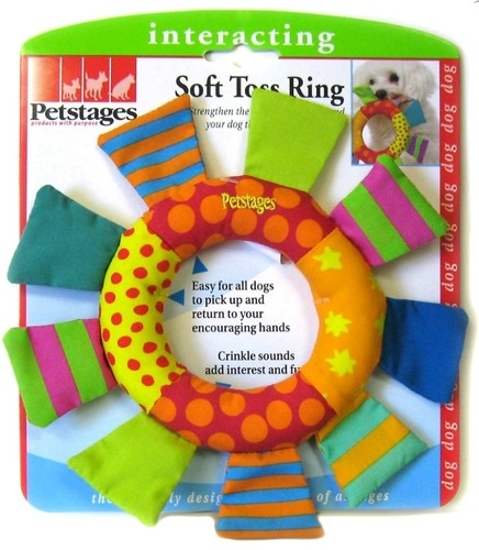 Petstages Soft Toss Ring Toy