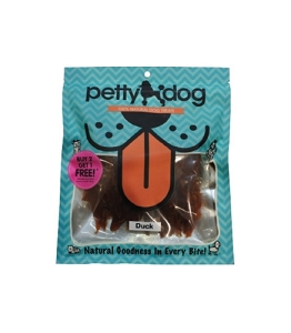PettyDog Natural Duck Jerky