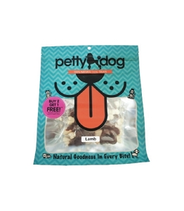 PettyDog Natural Lamb Wrap Calcium Bone