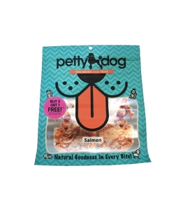 PettyDog Natural Salmon Bites