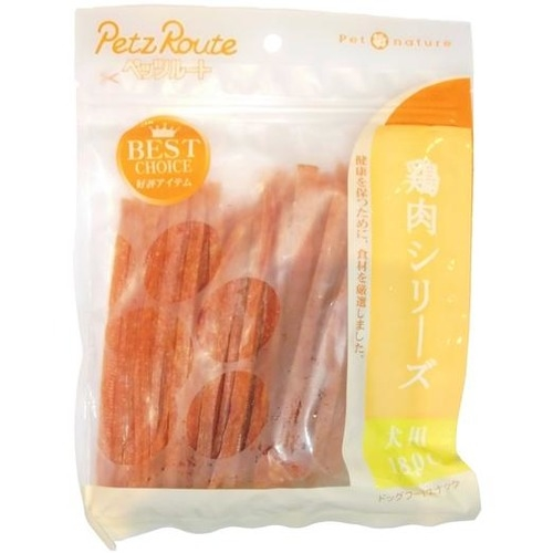 Petz Route Chicken Slice Dog Treat 180gm