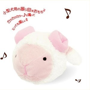 Petz Route Musical White Sheep Plush Toy