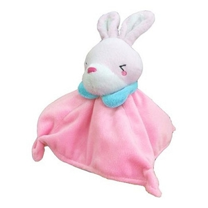 Petz Route Plushy Rabbit Square Frisbee Toy